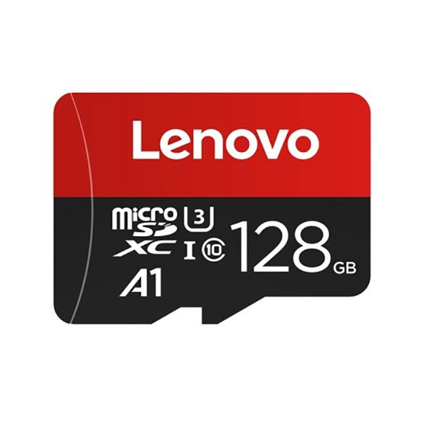 کارت حافظه microSDXC لنوو مدل A1 کلاس 10 استاندارد U3 سرعت 100MBps ظرفیت 128 گیگابایت