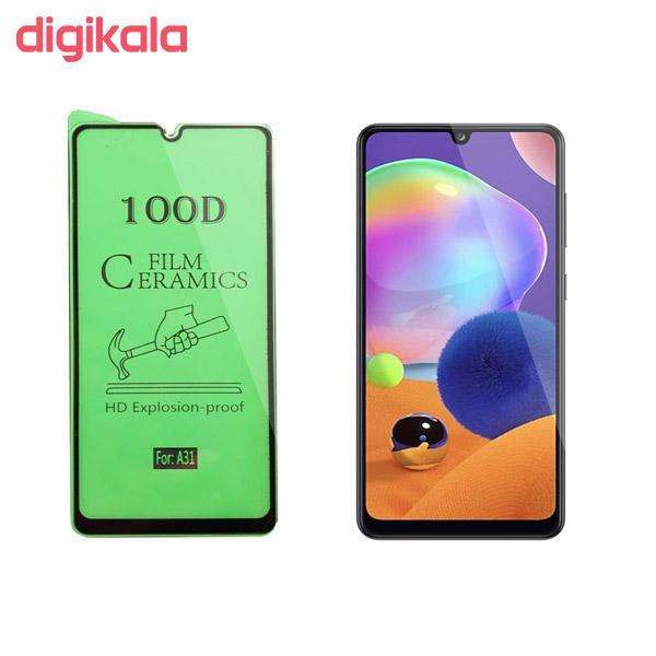 محافظ صفحه نمایش سرامیکی مدل FLCRG01to مناسب برای گوشی موبایل سامسونگ Galaxy A31 main 1 2