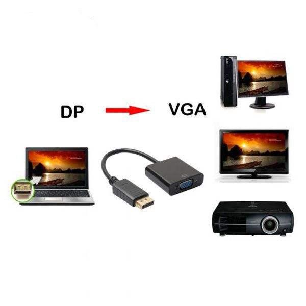 مبدل Display Port به VGA پی نت مدل kaiser