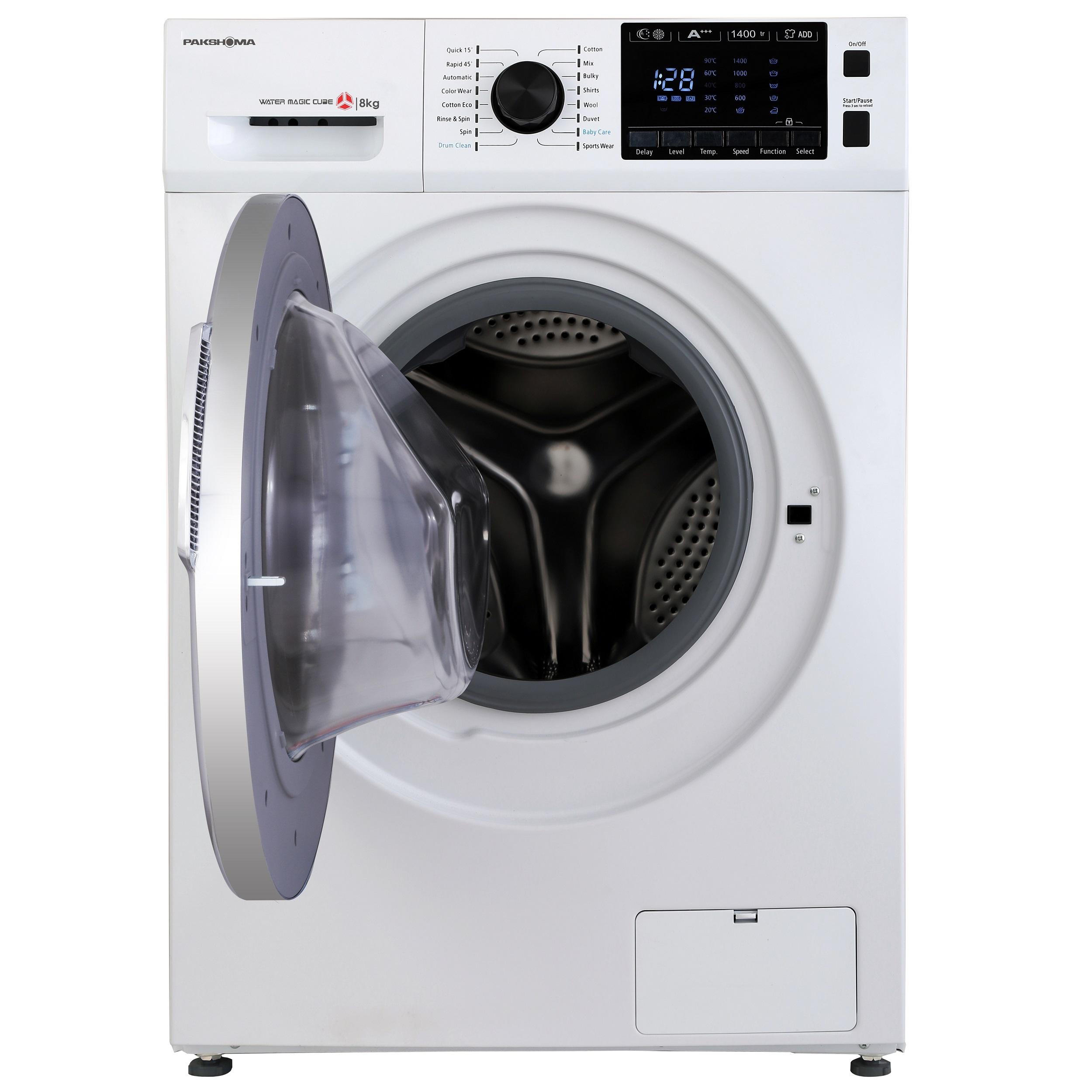 ماشین لباسشویی پاکشوما مدل TFU-84406 ظرفیت 8 کیلوگرم main 1 6