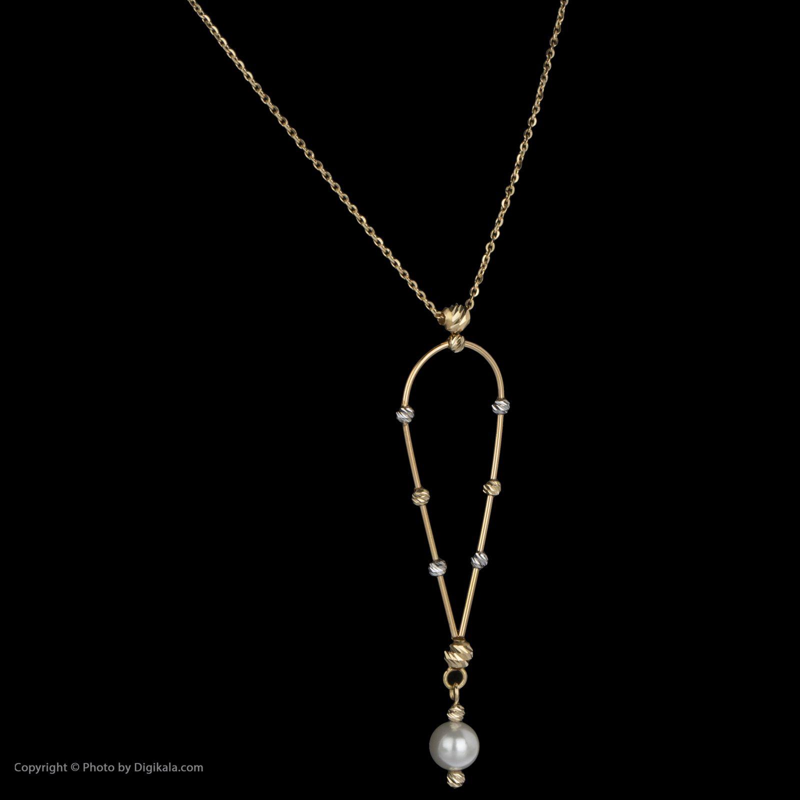 گردنبند طلا 18 عیار زنانه سیودو مدل 163956 -  - 4