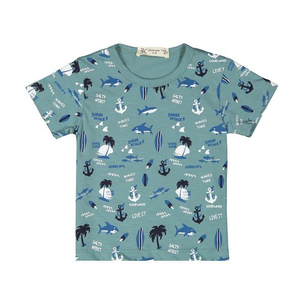 تی شرت پسرانه بی کی مدل 2211285-46