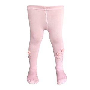 جوراب شلواری دخترانه مدل شکوفه کد Pi-2200