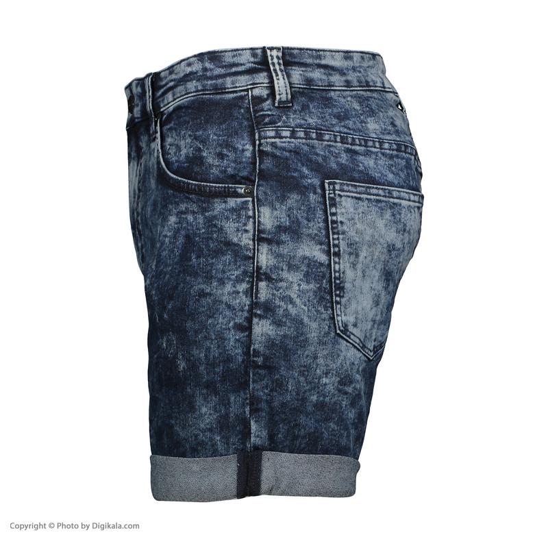 شلوارک مردانه سولا مدل SM524640017-BLUE