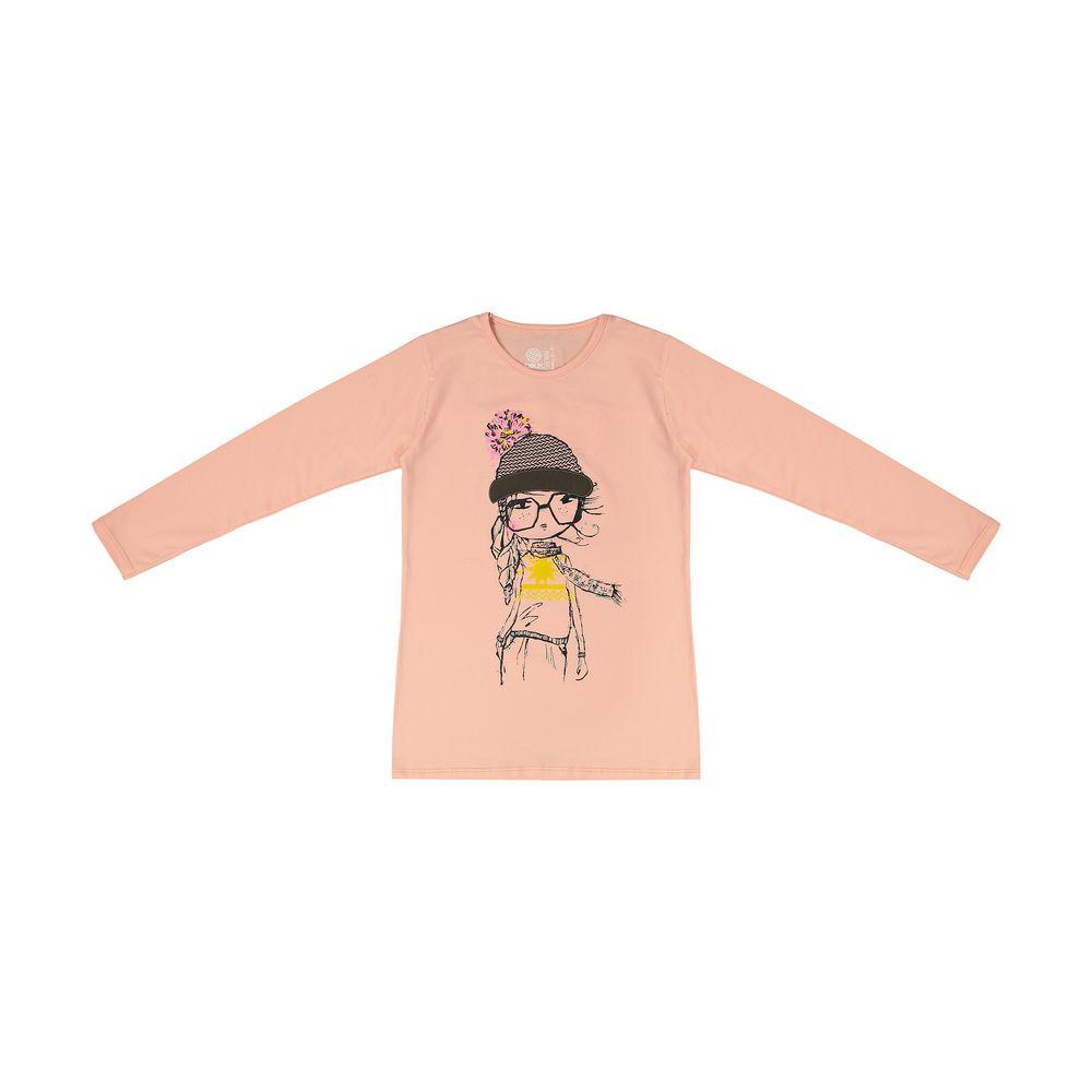 تی شرت دخترانه سون پون مدل 1391355-84