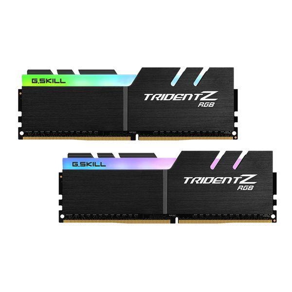 رم دسکتاپ DDR4 دو کاناله 4000 مگاهرتز CL18 جی اسکیل مدل TRIDENTZ RGB ظرفیت 64 گیگابایت
