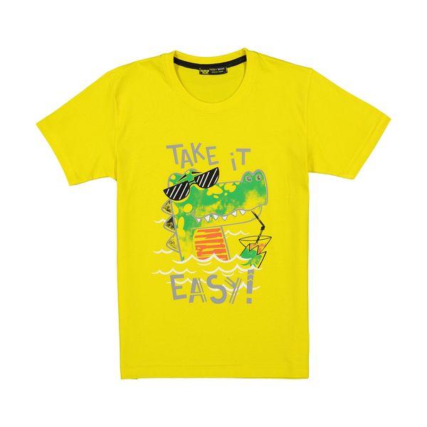 تی شرت پسرانه خرس کوچولو مدل 2011213-16