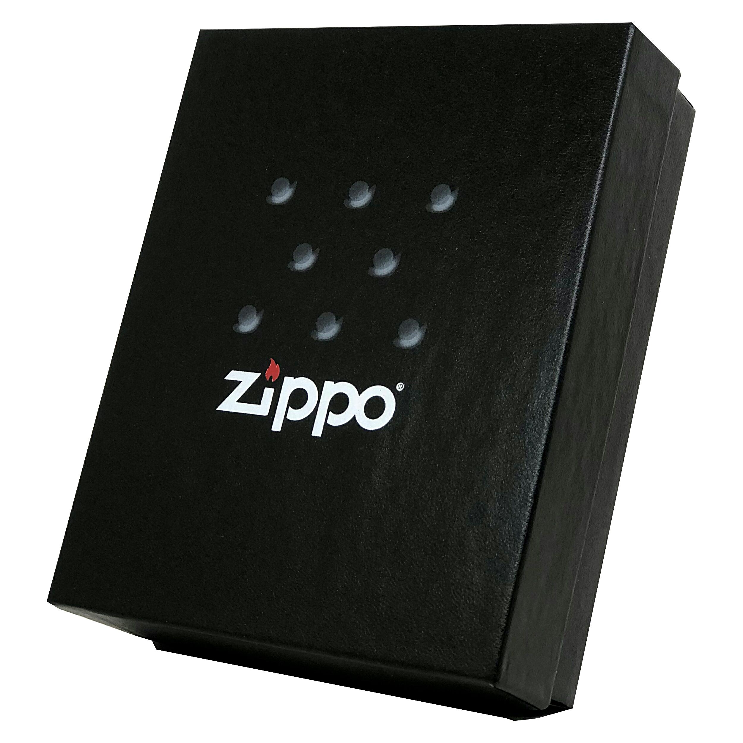 جعبه هدیه فندک و زیرسیگاری زیپو مدل 50RE Gift Kit