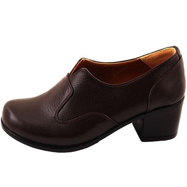 کفش زنانه آدین چرم کد DK32.1qa
