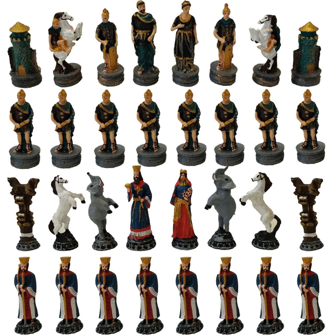 مهره شطرنج مدل هخامنشی کد 2 مجموعه 32 عددی