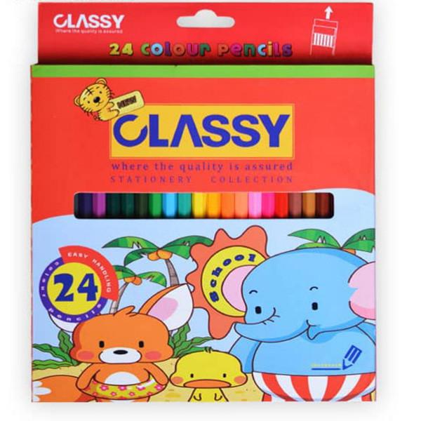 مداد رنگی کلاسی مدل CLY-501