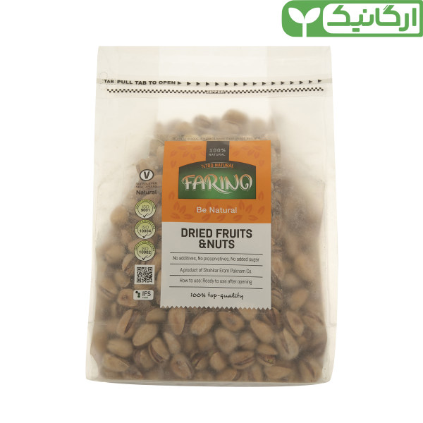 پسته نمکی ارگانیک فرینو - 900 گرم