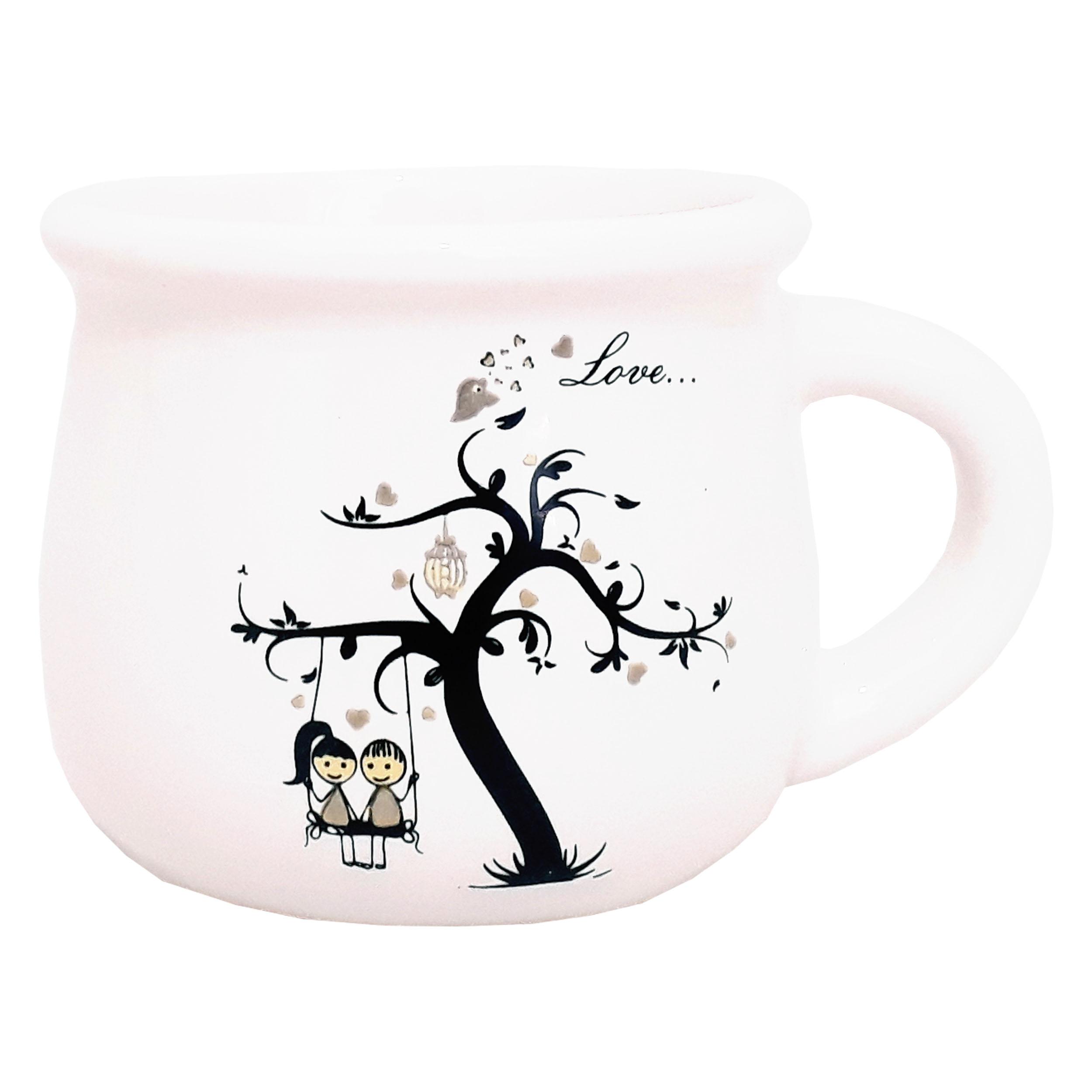 راهنمای خرید ماگ طرح درخت عشق کد DE1 لیست قیمت