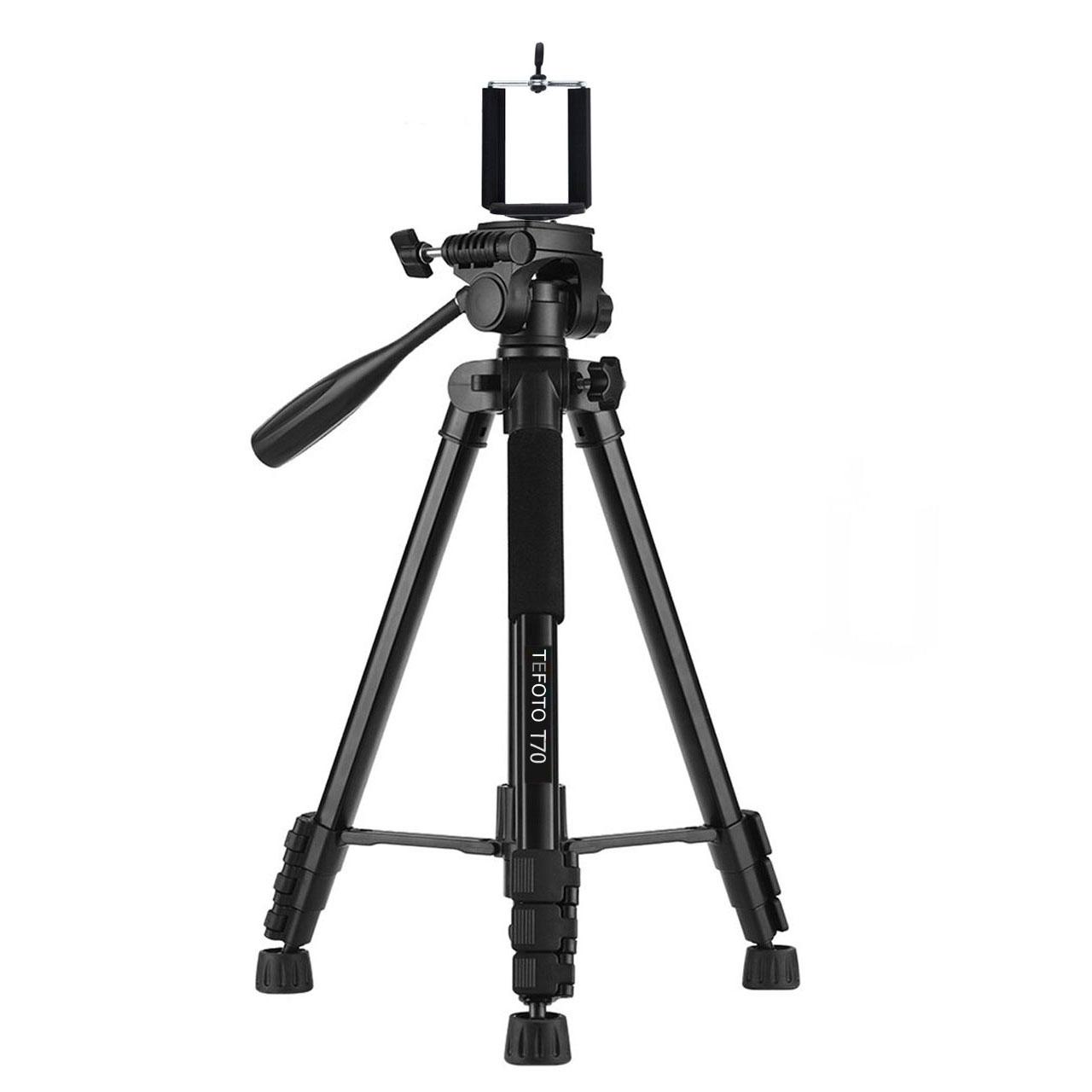 سه پایه دوربین تی فوتو مدل T-70 کد 70
