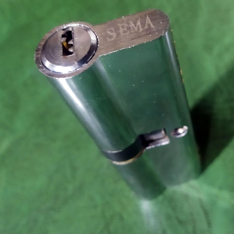 قیمت                                      مغزی قفل سما مدل L90-UPVC