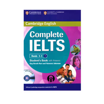 کتاب  Complete IELTS Bands 4-5 B1 اثر  Guy Brook-Hart And Vanessa Jakeman انتشارات الوند پویان