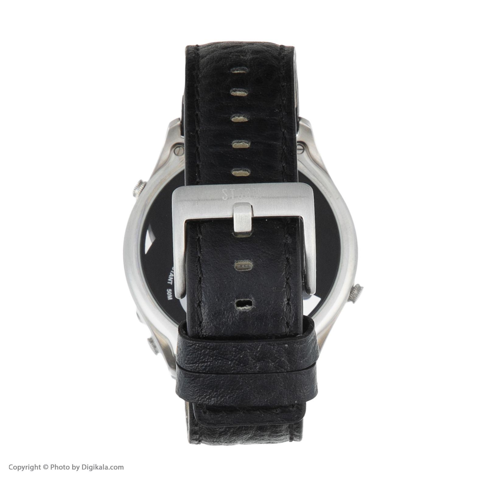 ساعت مچی عقربه ای مردانه استورم مدل ST 47144-BK -  - 5