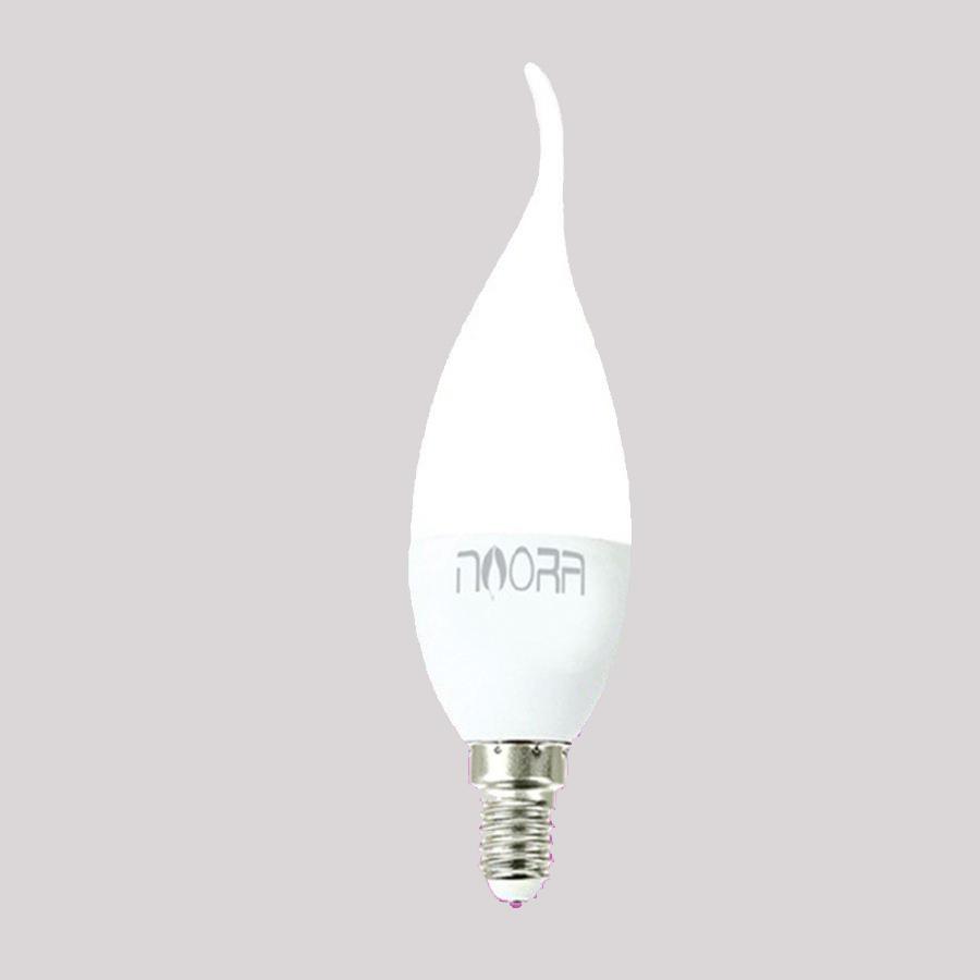 لامپ ال ای دی 7 وات نورا مدل N14A پایه E14 بسته 16 عددی