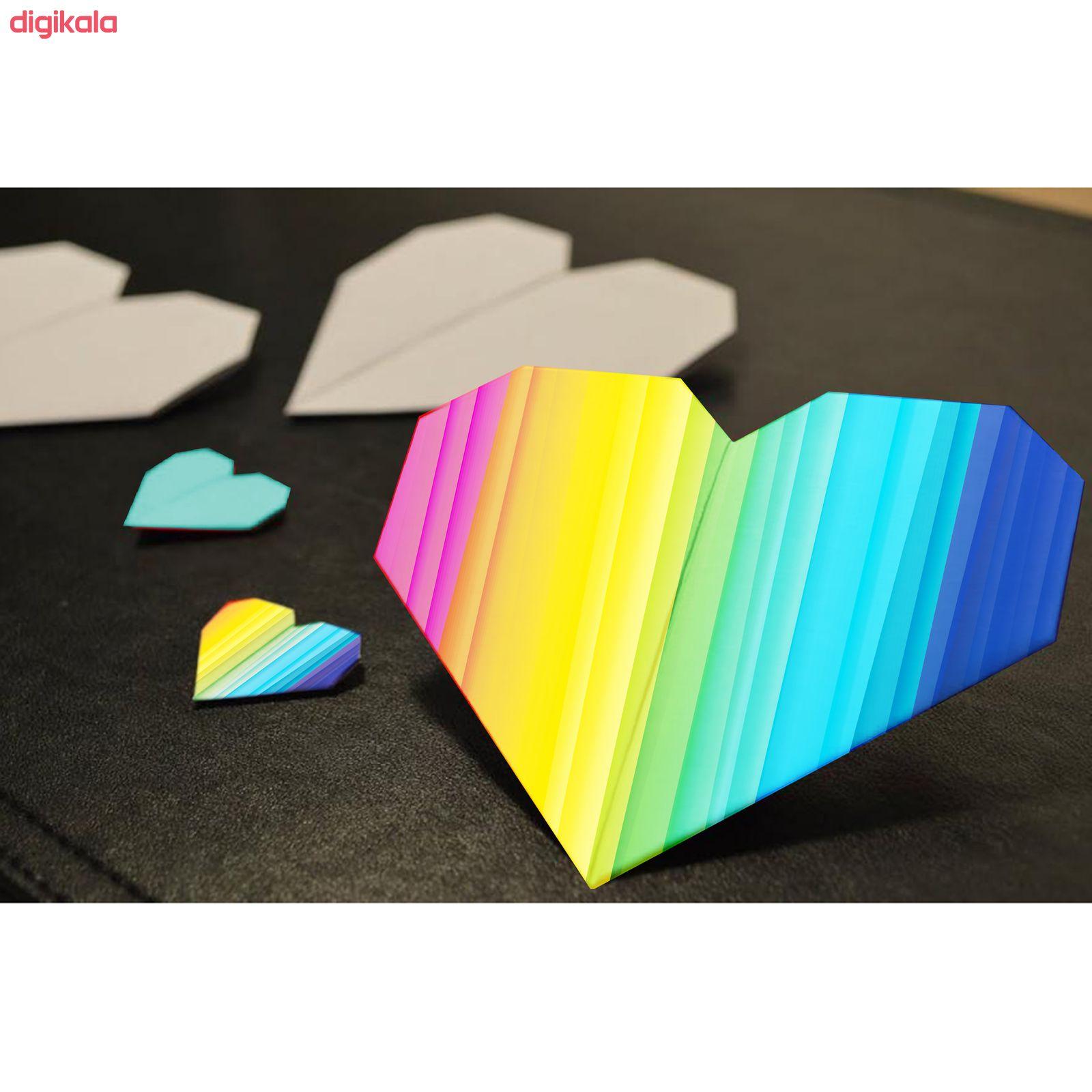 کاغذ رنگی A4 مستر راد مدل رنگارنگ بسته 10 عددی main 1 5