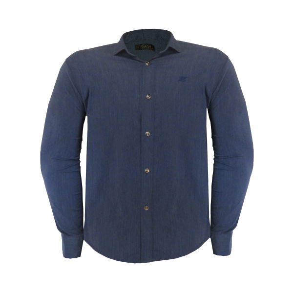 پیراهن مردانه کد PVLFZ9904B3 رنگ آبی
