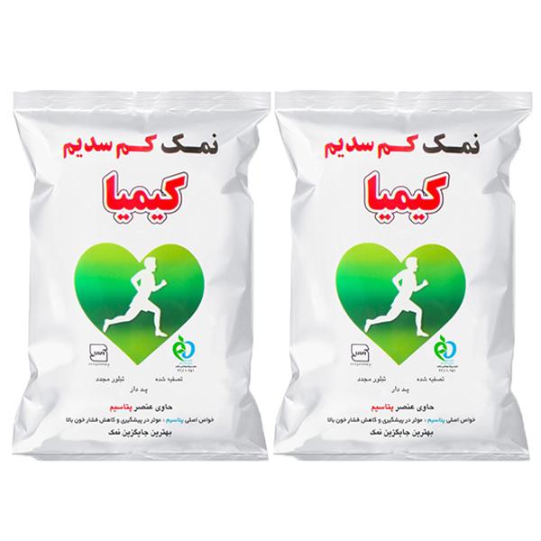 نمک کیمیا _ 500 گرم بسته 2 عددی