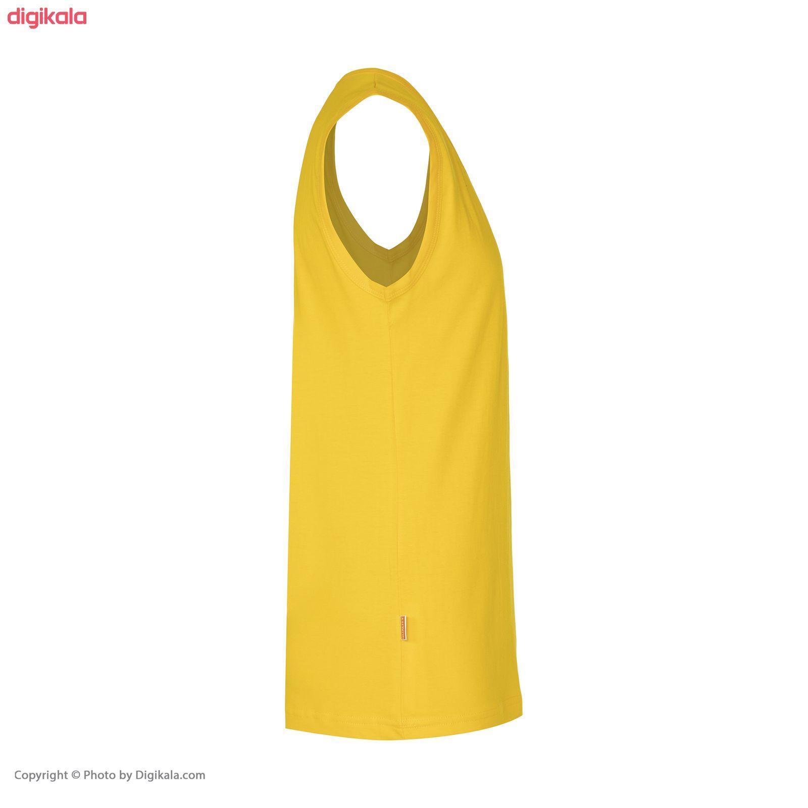 زیرپوش بدون آستین مردانه کوالیتی مدل QR 86 main 1 3