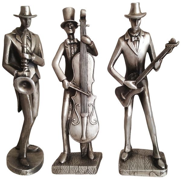 مجسمه لیلپار طرح موسیقی مدل DGA-2088 N مجموعه سه عددی