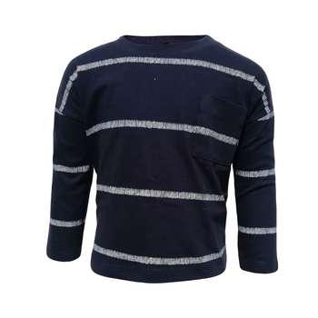 تی شرت آستین بلند پسرانه کیابی کد 10066-1
