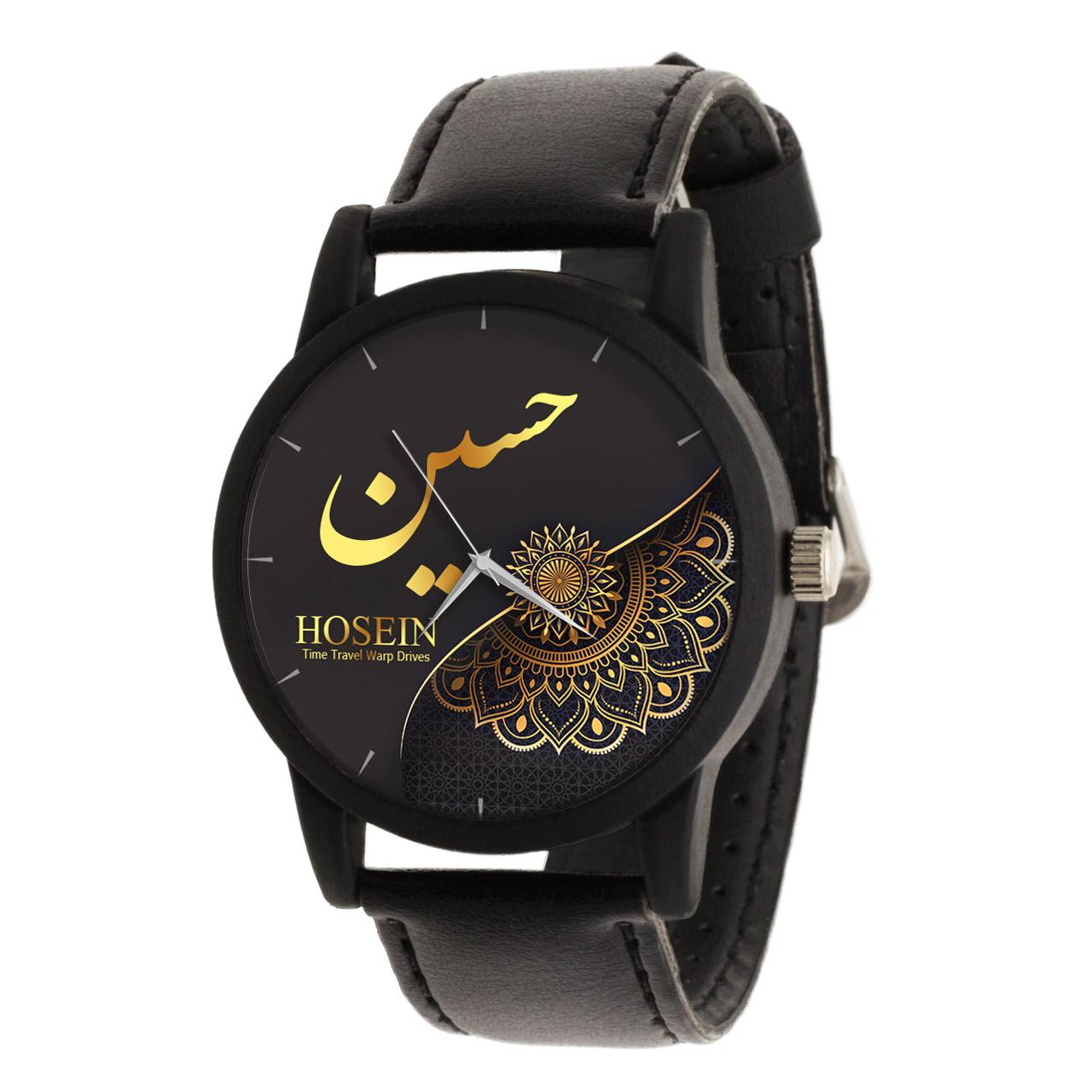 قیمت                      ساعت مچی عقربه ای مردانه طرح حسین کد LF3262