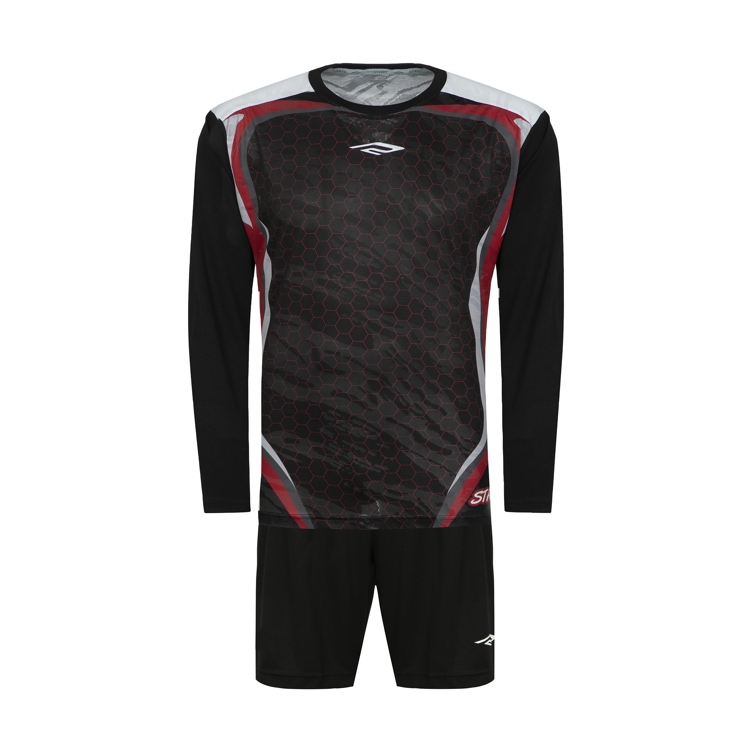 ست پیراهن و شورت ورزشی مردانه استارت مدل pg1001