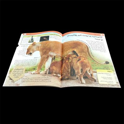 کتاب دانستنیهای شگفت انگیز حیوانات خطرناک اثر محمد سلامت انتشارات کمال اندیشه