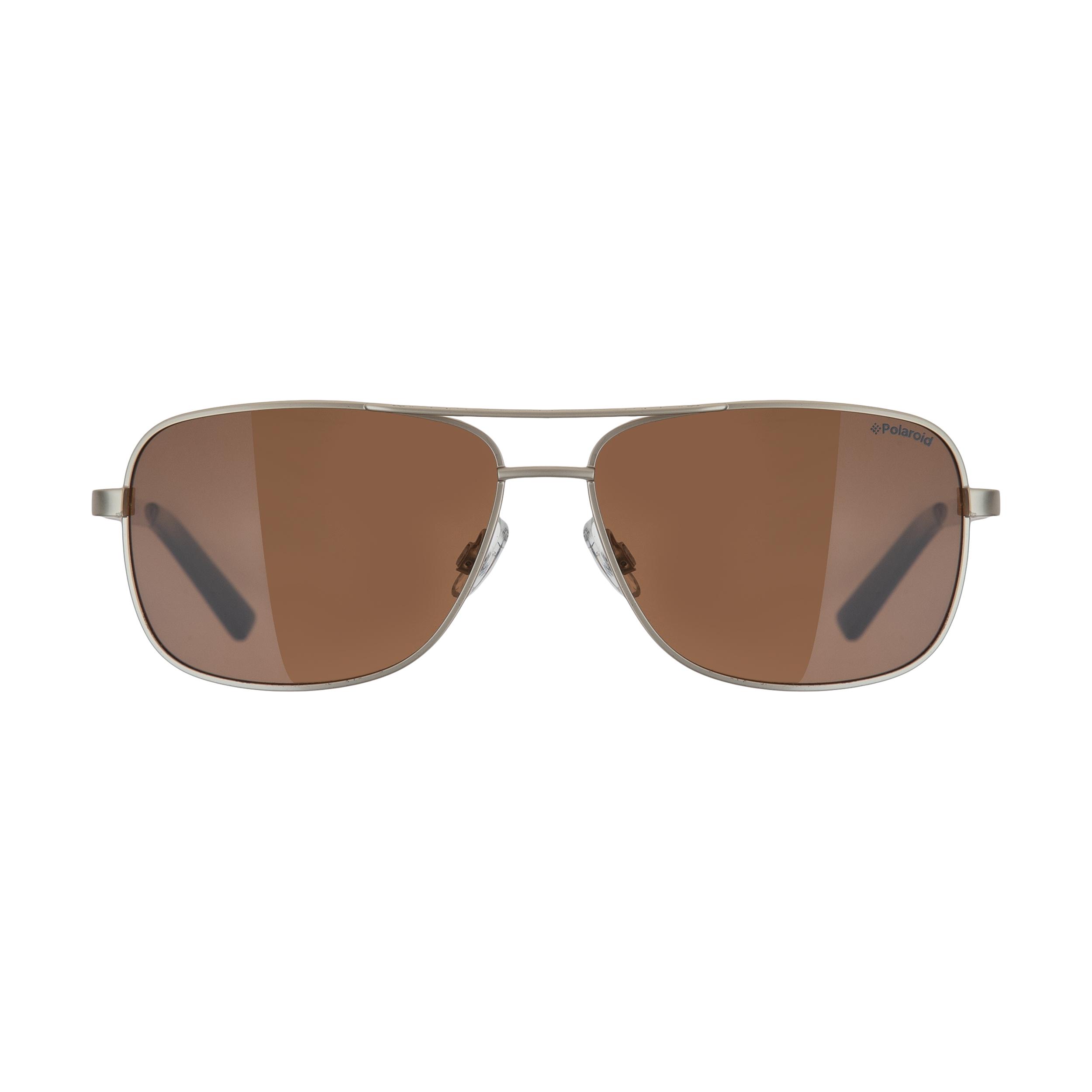 عینک آفتابی مردانه پولاروید مدل pld 2029-gld-58