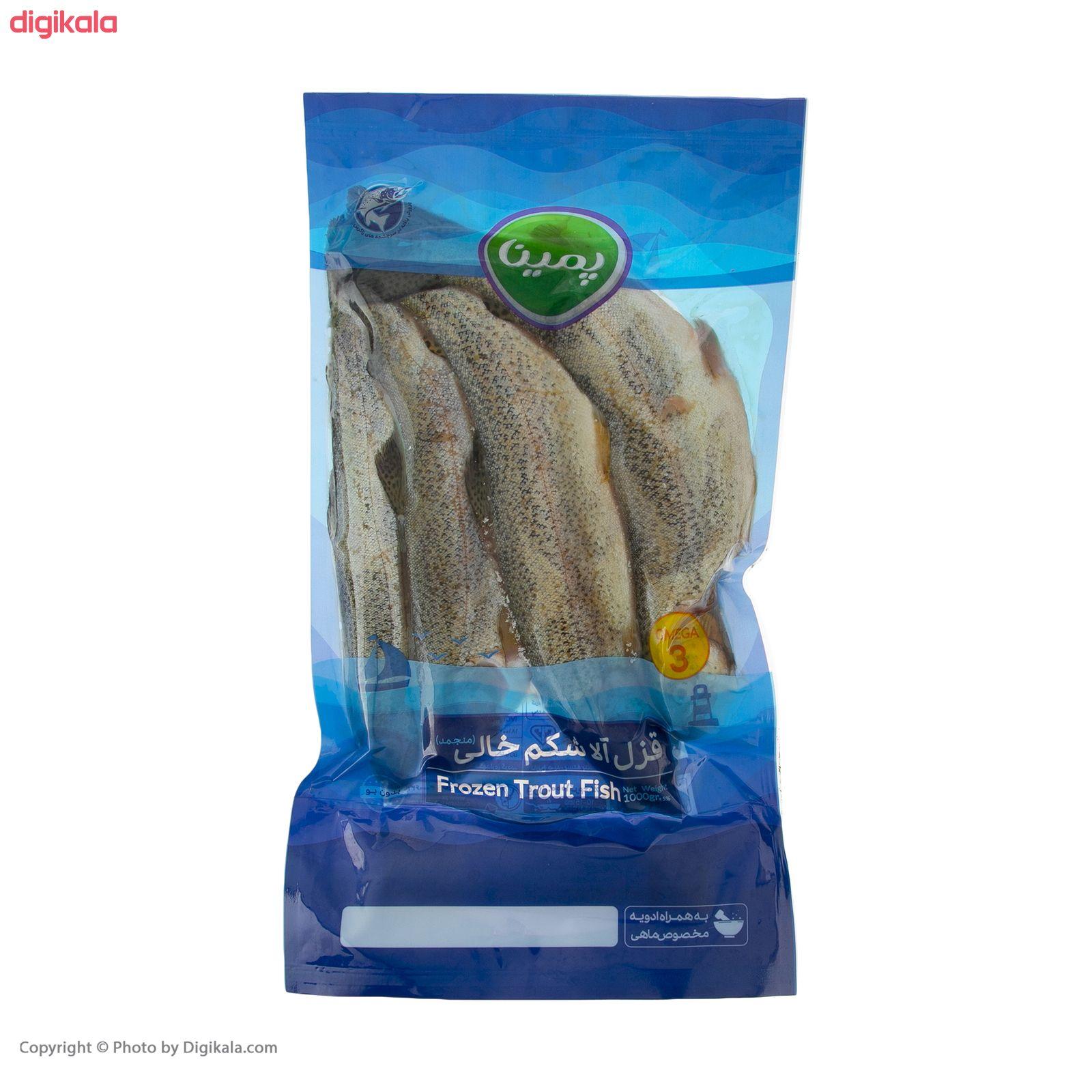 ماهی قزل آلا شکم خالی منجمد پمینا - 1 کیلوگرم  main 1 2