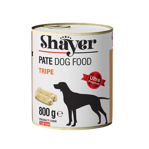 کنسرو غذای سگ شایر مدل Tripe وزن 800 گرم