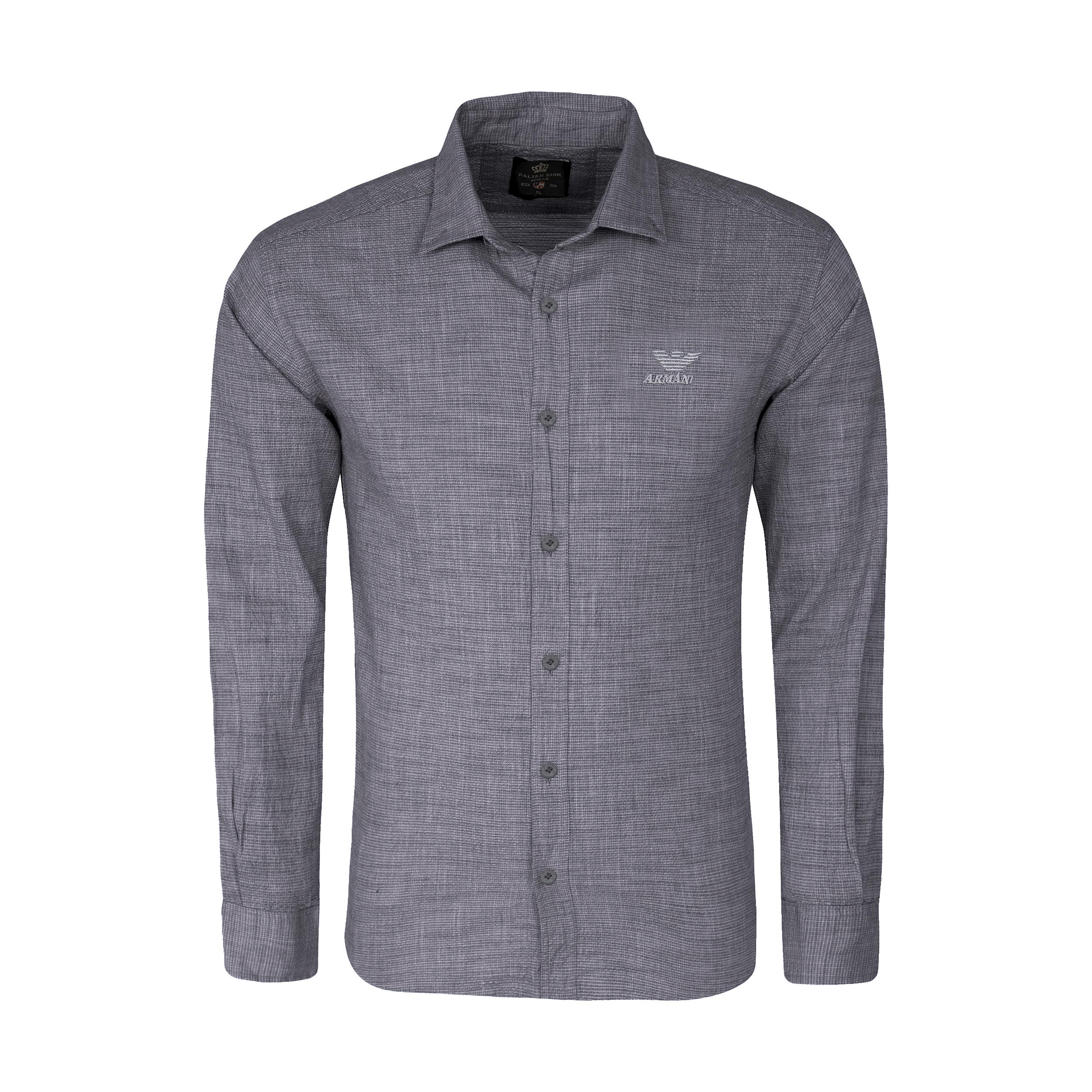 پیراهن آستین بلند  مردانه مدل 344003515                     غیر اصل
