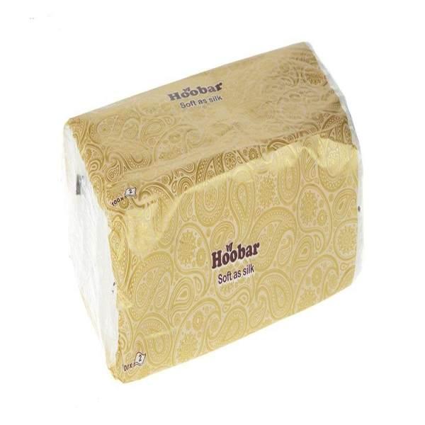 دستمال کاغذی 100 برگ هوبار مدل Hoomi