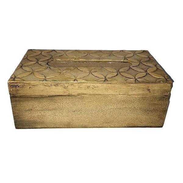 جعبه دستمال کاغذی مدل نقش برجسته کد F63