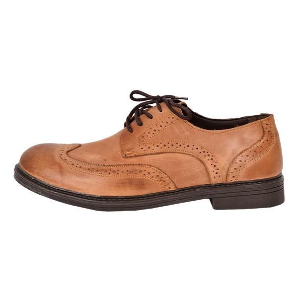 کفش مردانه بادی اسپینر مدل 1415 کد 1 رنگ عسلی