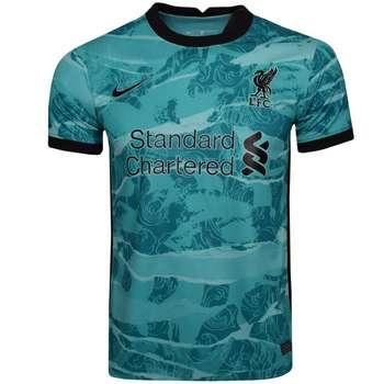 تی شرت ورزشی مردانه طرح لیورپول کد AWAY 2021