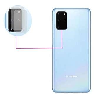 محافظ لنز دوربین مدل LTP مناسب برای گوشی موبایل سامسونگ Galaxy S20 Ultra بسته دو عددی