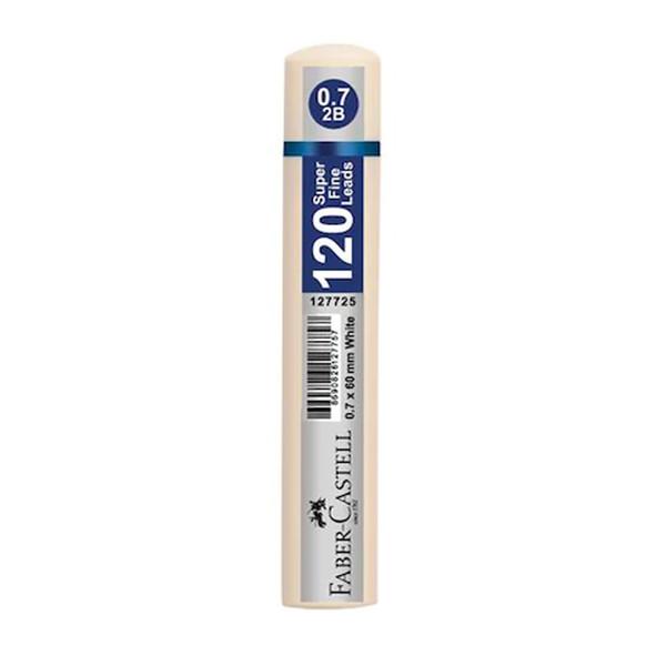 نوک مداد نوکی 0.7 میلی متری فابر کاستل مدل 120lead-superfine-W