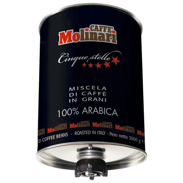 دانه قهوه 100% عربیکا مولیناری - 3 کیلوگرم