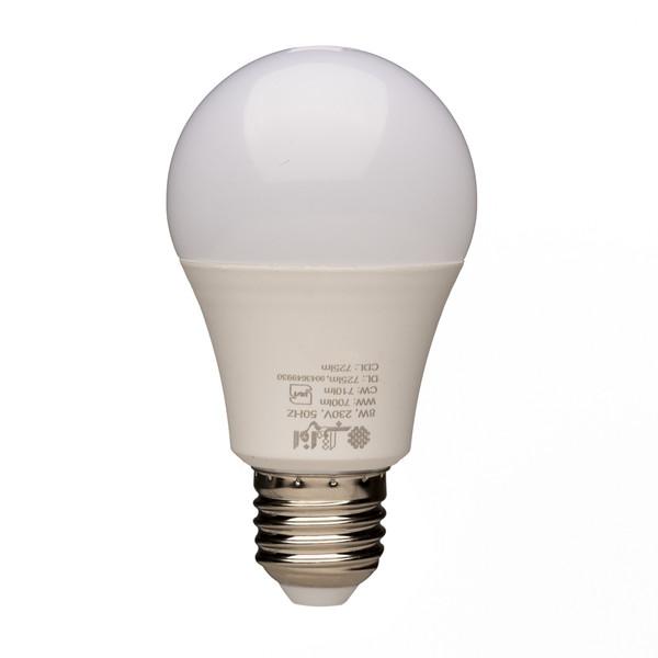 لامپ ال ای دی 8 وات افراتاب مدل AF-A60W پایه E27