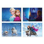پوستر طرح فروزن کد A-2216-Frozen مجموعه 4 عددی