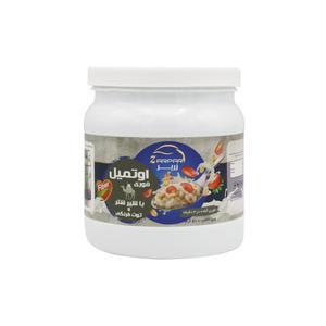 غلات صبحانه اوتمیل طعم شیر شتر توت فرنگی زرپر -500 گرم