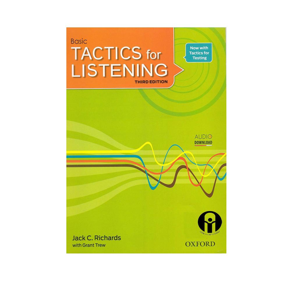 خرید                      کتاب Basic Tactics For Listening Third Edition اثر Jack C.Richards and Grant Trew انتشارات الوند پویان