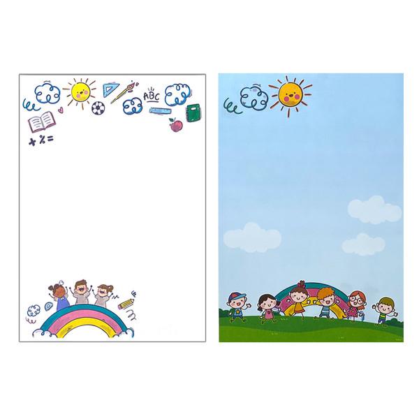 کاغذ یادداشت طرح کودک من بسته 50 عددی