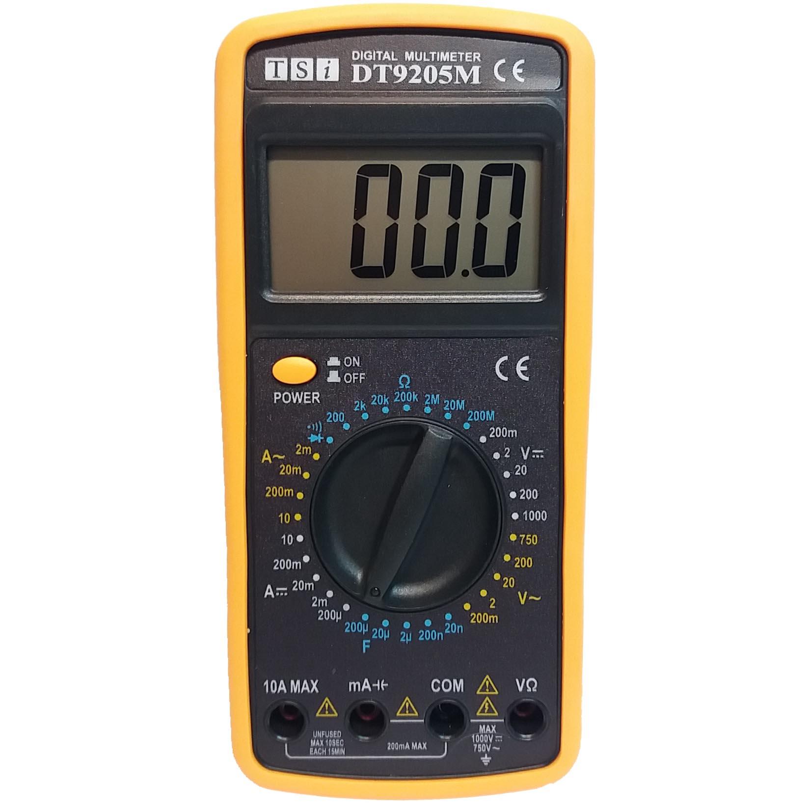مولتی متر دیجیتال تی اس آی مدل DT9205M