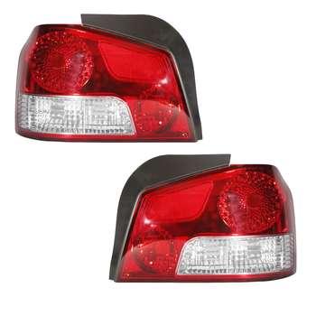چراغ خطر عقب خودرو نیران مدل JT5123 مناسب برای پراید بسته 2 عددی