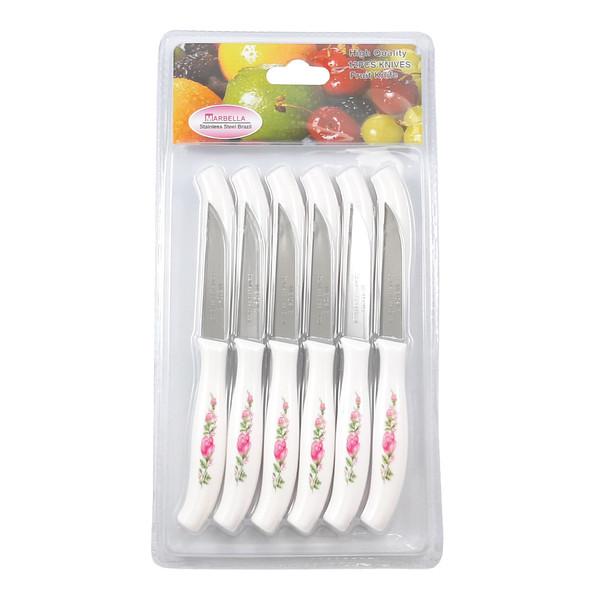 چاقو میوه خوری ماربلا کد M11 بسته 12 عددی